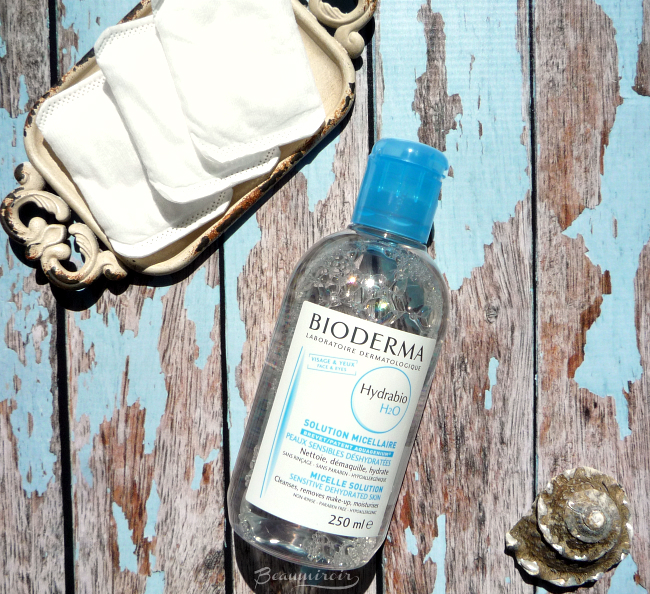 Review of Bioderma micellar water Hydrabio H2O, the version for dry and dehydrated skin + one bottle for you to win!
