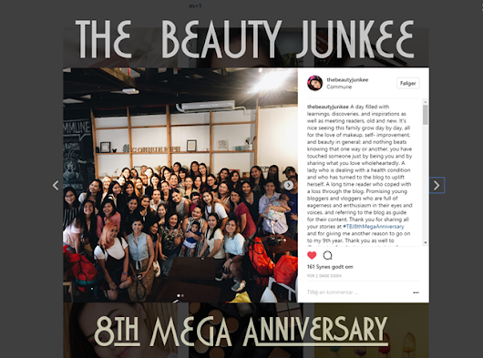 The Beauty Junkee 8th Mega Anniversary Celebration!