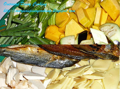 Vegetables and Dried Fish