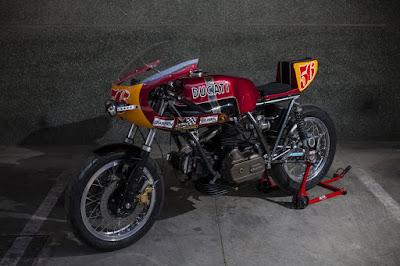 Ducati 860 GT Custom Endurance Style