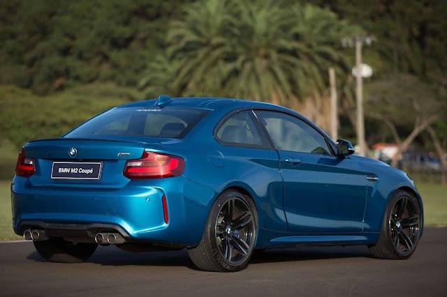 Novo BMW M2 2017 - Brasil - preço