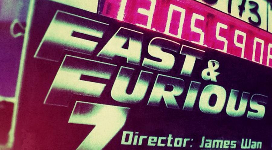 Regizorul James Wan confirmă că au început filmările pentru FAST & FURIOUS 7 cu o imagine