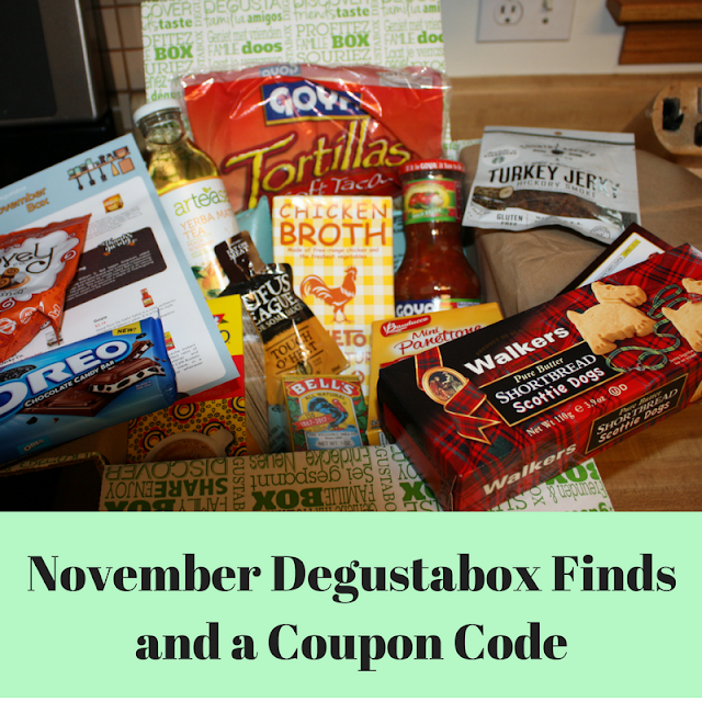 Foodie treats delivered monthly from Degustabox