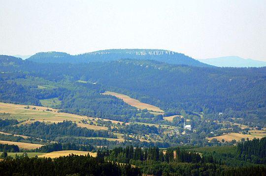Góry Stołowe (masyw Szczelińców) z Sołtysiej Kopy