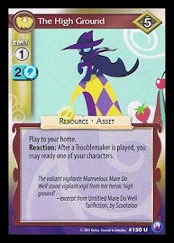 My Little Pony The High Ground Canterlot Nights CCG Card