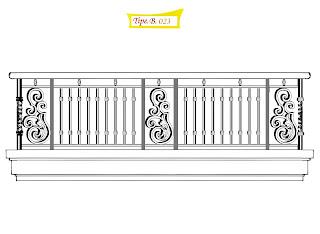 Desain, Balkon, Design, Balcony, Besi, Tempa, Klasik