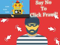 Script klik tidak valid | click fraud | bom klik | Adsense