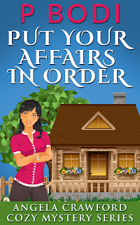 Put Your Affairs In Order Angela Crawford Cozy Mystery Series Book 2