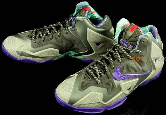 outlet store e39b3 306cf Lebron 11 Elite Black Tech Grey Court Purple