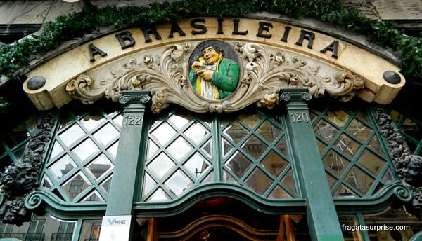 Café A Brasileira, bairro do Chiado, Lisboa