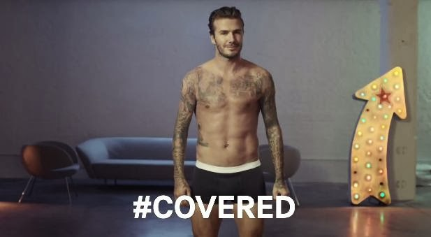 Super Bowl XLVIII Ads: David Beckham for H&M - #Covered or #Uncovered?