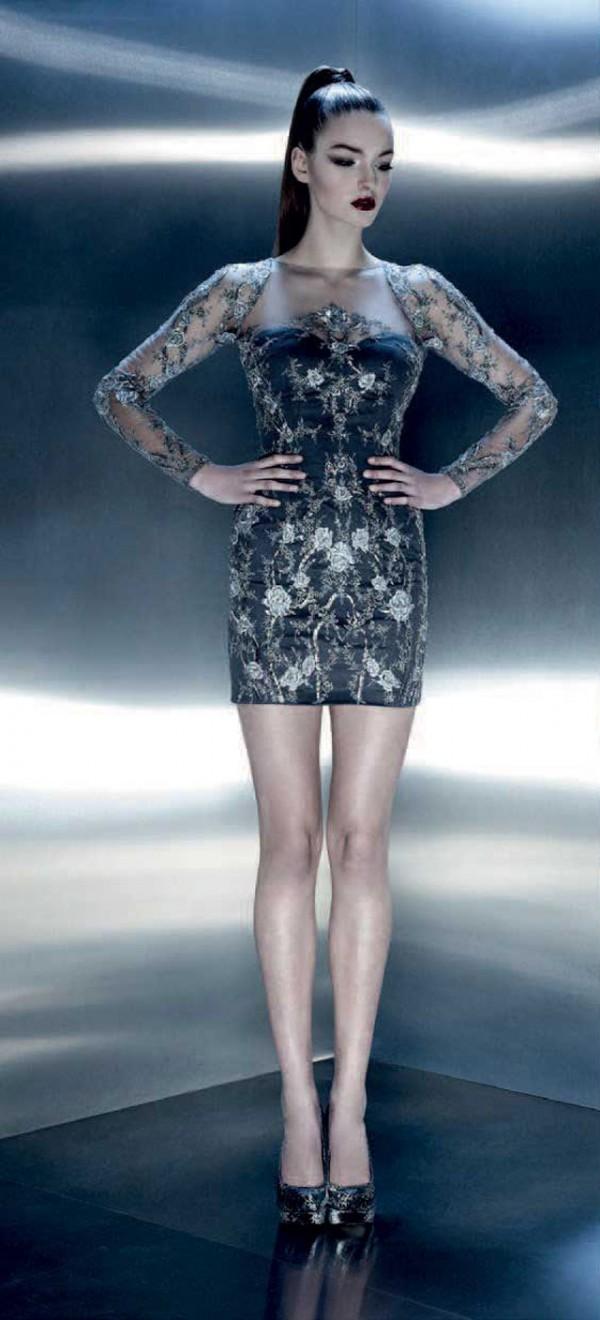 Increíbles vestidos de moda | Colección Pavoni
