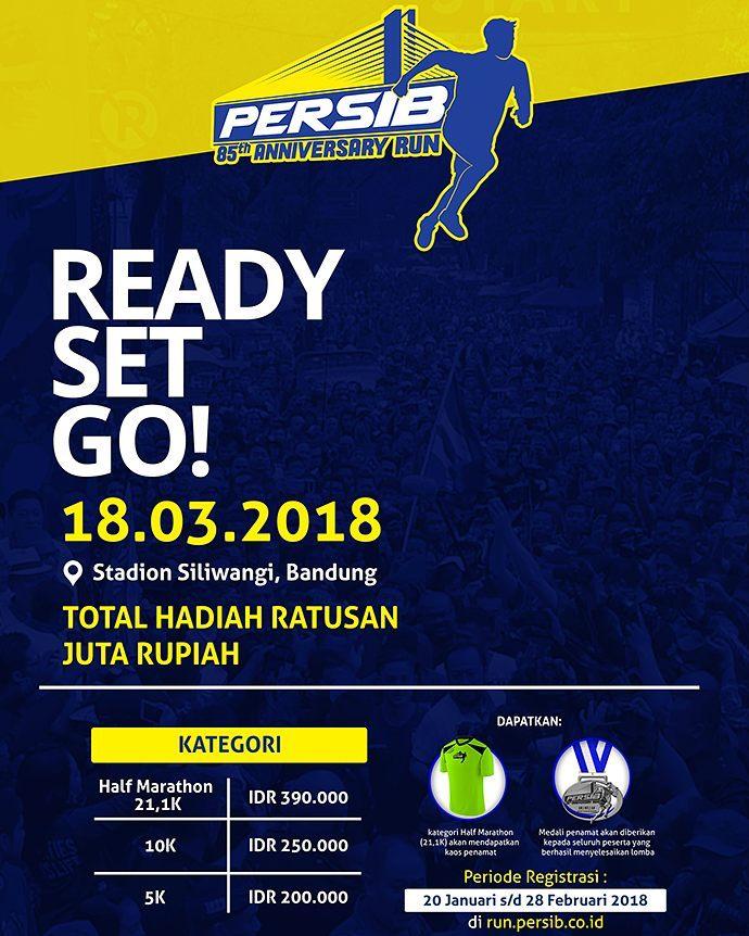 PERSIB Anniversary Run • 2018