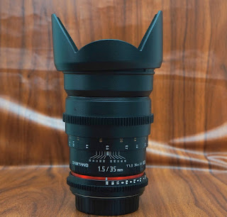Samyang 35mm f1.4 UMC for Canon