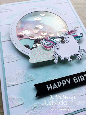 Jo's Stamping Spot - Just Add Ink Challenge #404 using Magical Day bundle by Stampin' Up!