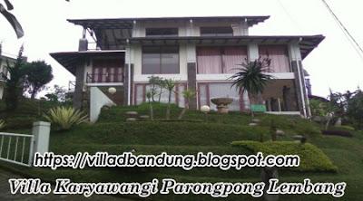 Villa Di Karyawangi Parongpong Lembang