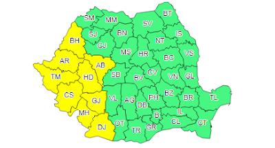 hőségriadó, kánikula, ANM, Románia, időjárás-jelentés