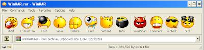 WinRAR Senyum's theme Snapshot