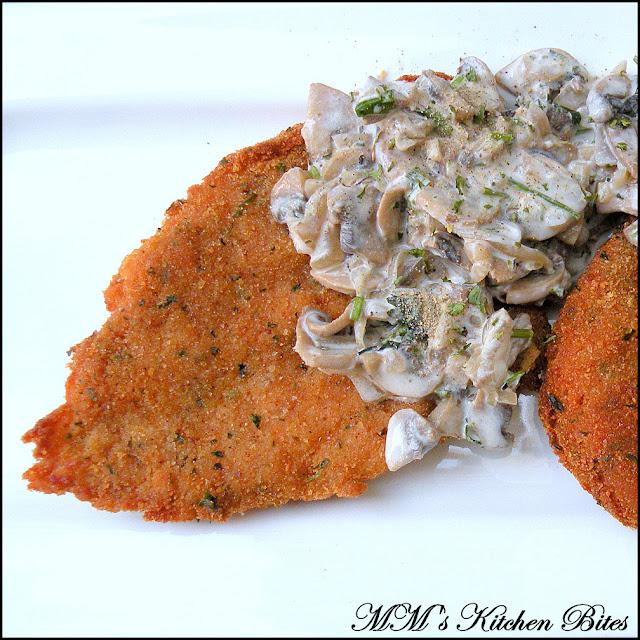 Pan Fried Crumbed Chicken mmskitchenbites