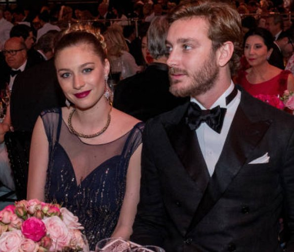 Princess Caroline, Pierre Casiraghi, Beatrice Borromeo, Charlotte Casiraghi, Prince Serge, Eleonora, Princess Camilla, Prince Charles at Rose Ball 2017