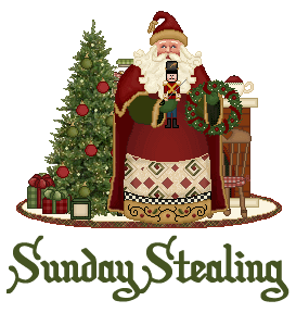link up here if youre stealing on christmas this weekend - Stealing Christmas