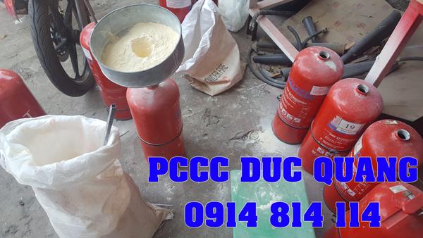 Nạp sạc bảo trì bình chữa cháy ở Bình Dương - Bảng giá 2019