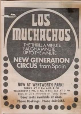 Cartel del Circo de los muchachos de Bemposta en Estados Unidos