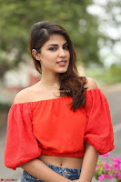 Rhea Chakraborty in Red Crop Top and Denim Shorts Spicy Pics ~  Exclusive 082.JPG