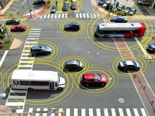 Mobil yang bisa berkomunikasi dengan mobil lainnya