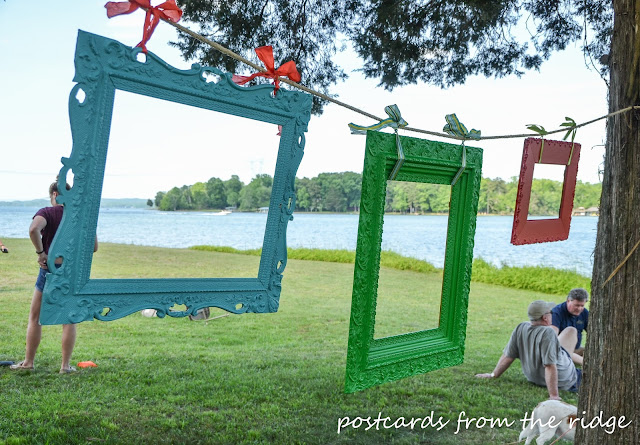 Great ideas for a photo booth for your next party. This is great!