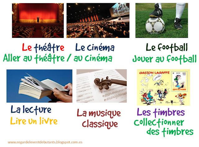 Czas wolny - słownictwo 4 - Francuski przy kawie
