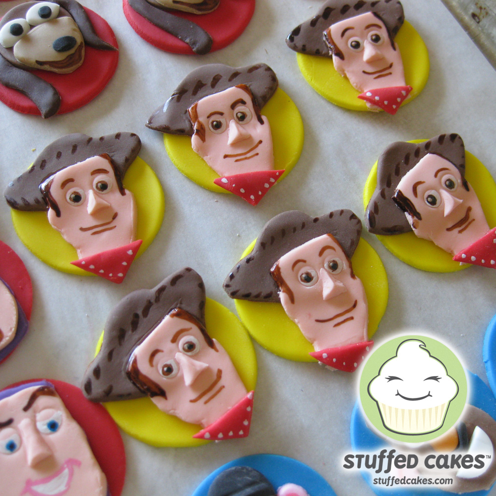 Stuffed Cakes Toy Story Cupcake Toppers-5487