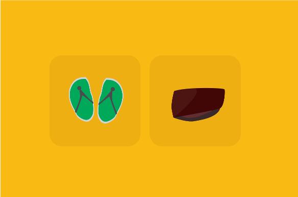Sandal atau kopyah - cakyus.web.id