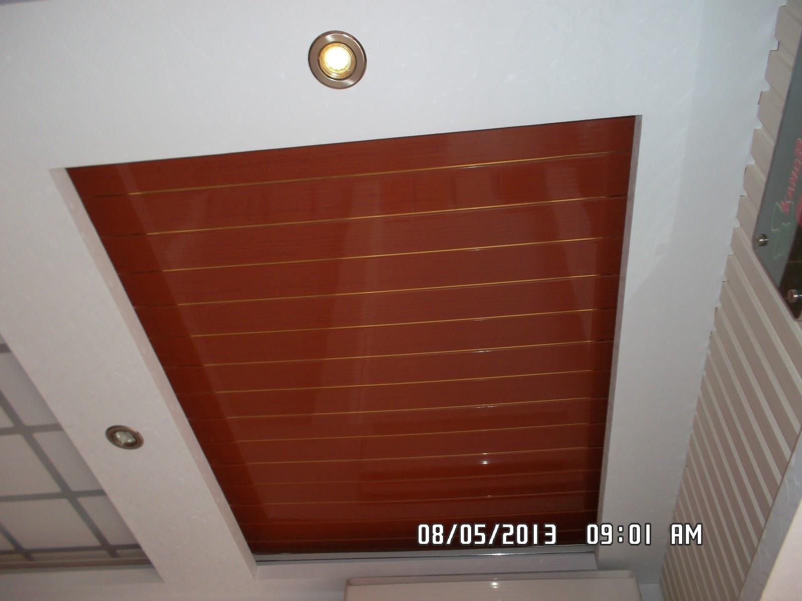 Kang Bang Lampung Plafon  PVC  Kang Bang Plavon PVC  motif