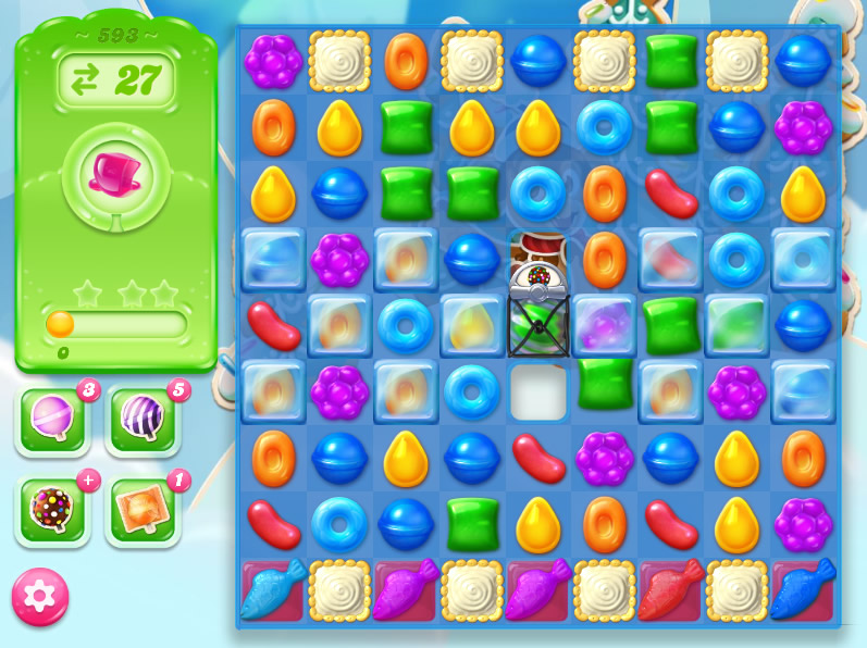 Candy Crush Jelly Saga level 593