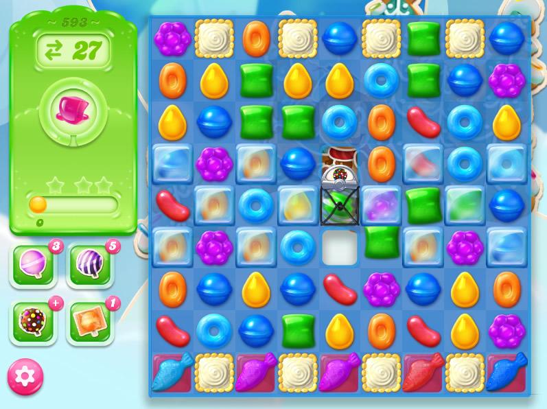 Candy Crush Jelly Saga level 593