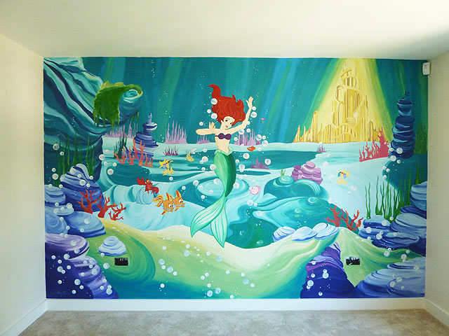 Please See My Gallery For More Hand Painted Mural Ideas For Childrenu0027s  Murals, Traditional Murals And Contemporary Wall Murals. Part 71