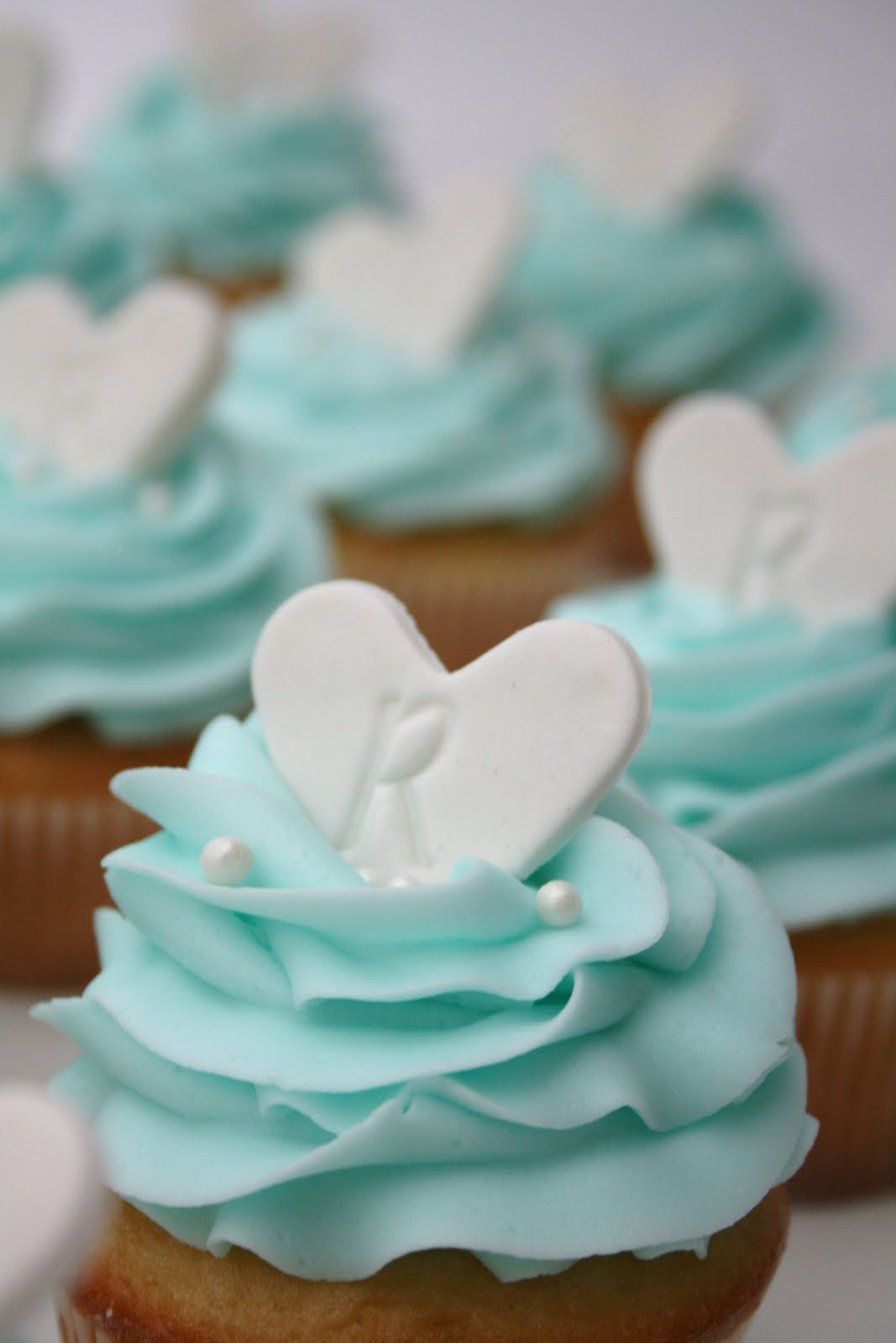 Bridal Shower Cupcake Cake Ideas and Designs