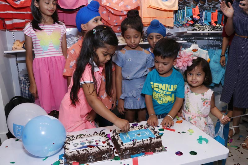 Mini celebrities inaugurating The Children's Place at MBD Neopolis Mall in Ludhiana on May 22, 2018