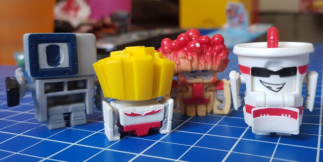 Transformers BotBots review line of 4 characters robot transformed