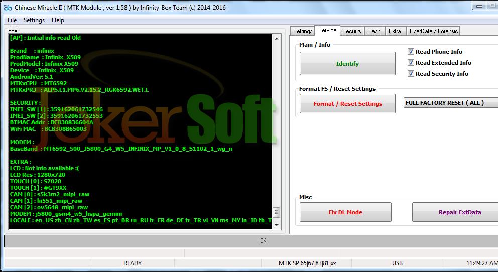 الروم العربى المسحوب لهاتف Infinix Zero 2 X509 لحل مشكلات