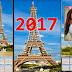 Plantillas calendario 2017 psd PARÍS