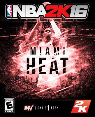 NBA 2K16 Custom Covers - Miami Heat
