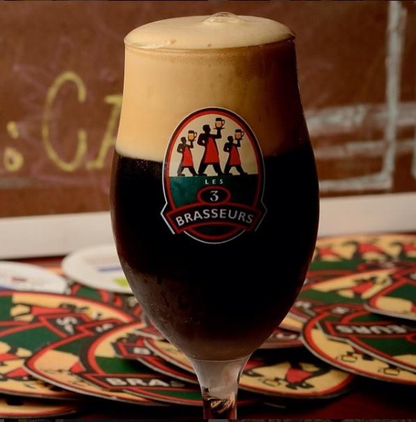 Cerveja Brune Cervejaria Les 3 Brasseurs