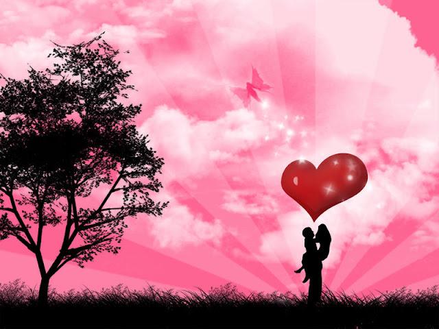 Hình nền tình yêu đẹp chất lượng HD, trái tim