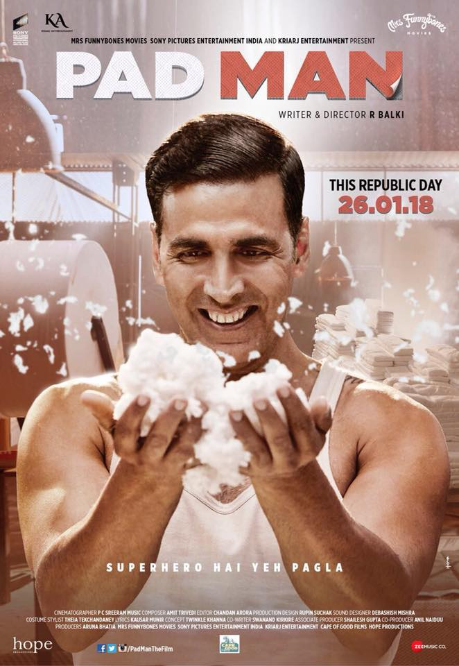 Padman Official Poster