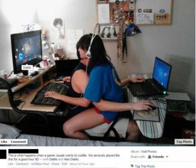 foto pasangan terunik terlucu teraneh dan ternorak di dunia-14