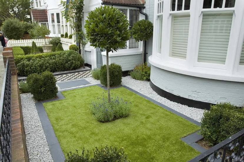 Simple garden ideas with beautiful landscape as a for Basic small garden design