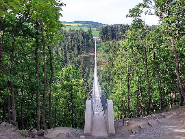 Alemanha: as pontes mais fantásticas! Ponte suspensa Geierlay