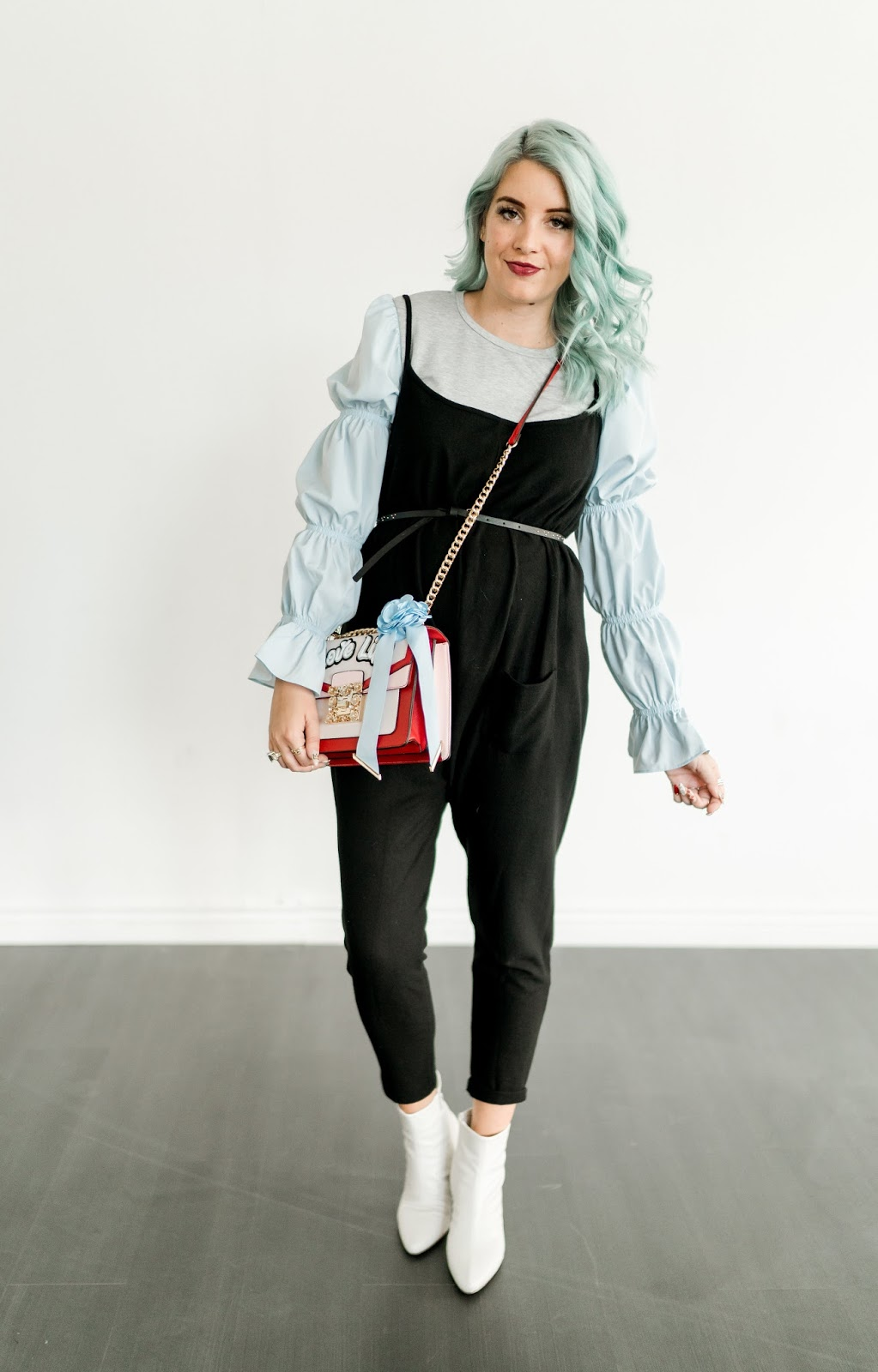 Blue Hair, Maternity Style, Pregnant Style